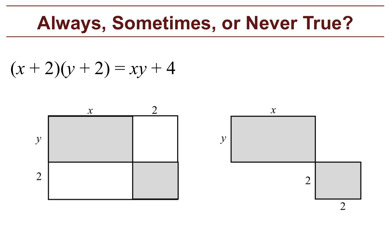 Workbooks math worksheets for grade 8 algebra : Formative Assessment Lessons